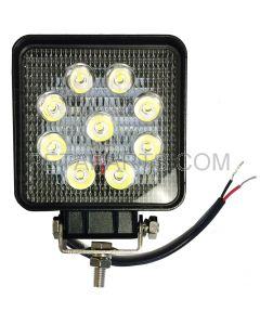 4 x 4  9 LED Car Truck Tractor Led Work Light