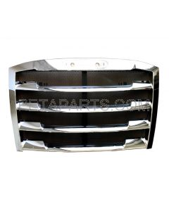 Grille Chrome with Bug Net 2018 and new ( Fit: Freightliner Cascadia Truck)