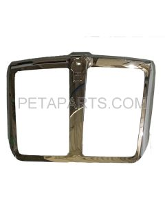 Grille Without Bug Net Plastic in Chrome (Fit: 2013-2019 Kenworth T680)