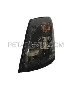 LED Headlight Assembly Black - No Heating - Driver Side (Fit: 2004-2018 Volvo VNL VN VNM)