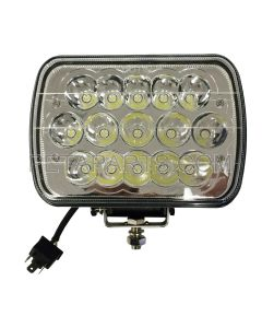5 x 7  15 LED Sealed Beam Headlight  Work Light