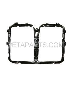 Bug Screen Bracket Plastic Black (Fit: 2013-2020 Kenworth T680 )