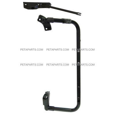 Power Heated Chrome Passenger Side PetaParts PBP 35-063 Volvo VNL Door Mirror with Bracket Arm
