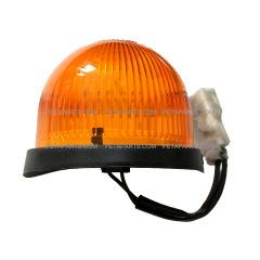 Roof Top Marker Light Amber with LED Bulb ( Fit: 2008-2017 Isuzu NRR and NPR , 2008-2010 GMC W4000 W4500 Trucks )