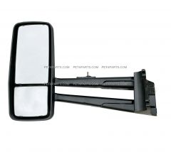 Door Mirror Power Heated Chrome - Driver Side ( Fit: 2013-2020 Kenworth T680 T880, 2013-2020 W990 Trucks)