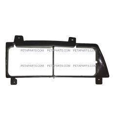 Headlight Bezel Plastic Black - Passenger Side  (Fit: 1995-2005 Isuzu NPR NRR)