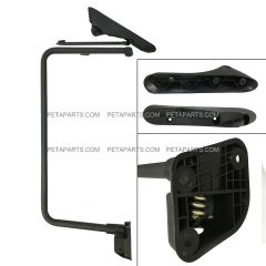 Door Mirror Bracket Arm No Power No Heated Black - Driver Side (Fit: International 4300 4400 7400 7600 8500 8600 Truck)