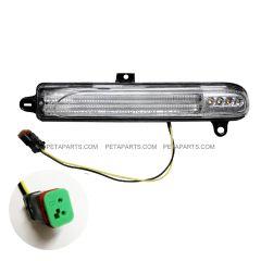 LED Amber Indicator Light for Back of Headlight Shell - Passenger Side (Fit: Peterbilt 388 389 367 567)