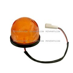 Roof Top Marker Light Amber with LED Bulb ( Fit: 2008-2017 Isuzu NRR and NPR , 2008-2010 GMC W4000 W4500 Trucks )