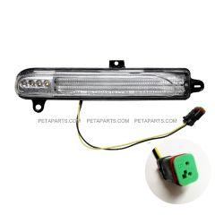 LED Amber Indicator Light for Back of Headlight Shell - Driver Side (Fit: Peterbilt 388 389 367 567)