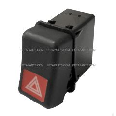 Hazard Warning Light Switch (Fit: 1998-2004 Volvo VN,1996-2004 Volvo VNL VNM)