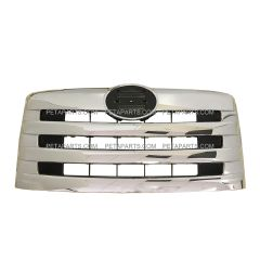 Grille without Bug Mesh Chrome (Fit: Hino 258 268 338 358 Truck)