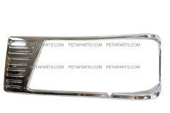 Headlamp Bezel Chrome 16-06264 - Driver Side (Fit: Peterbilt 377 Truck)