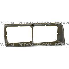 Headlight Bezel - Passenger Side (Fit: HINO FE2620 FB1817 SG3325 FD2220 Truck)
