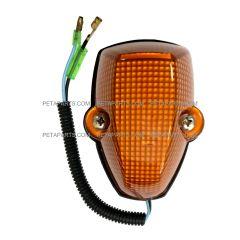Roof Top Marker Light Amber with LED Bulb (Fit: Mitsubishi FUSO FE180 FE145 FE140 FE84D FE83D FG4X4 Trucks)