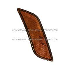 LED Front Fender Side Turn Signal Indicator Light Amber - Passenger Side (Fit: 2010-2019 Peterbilt 587 579)
