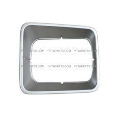 Headlight Bezel Plastic Gray (Fits: (95-05) Freightliner FL50, (91-04) FL60, (91-05) FL70, (91-05) FL80, and (94-03) FL106 Trucks)