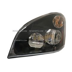 LED Headlight Assembly Black - Driver Side (Fit: Freightliner Cascadia 2008-2017)