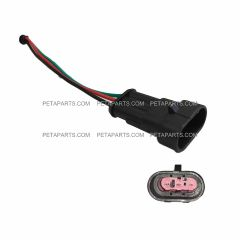 3 Wire Socket 3-Pin Male Connector for Various Vehicles