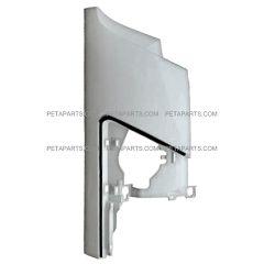 Front Cowl Corner Panel Plastic White - Passenger Side (Fit: 2008-2017 Isuzu NRR and NPR , 2008-2010 GMC W4000 W4500 Trucks)