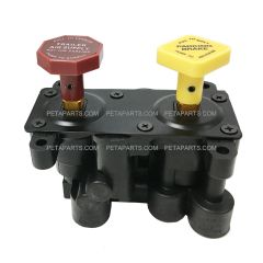 MV-2 Dash Control Brake Valve KN20615 (Fit: Freightliner Kenworth Peterbilt)