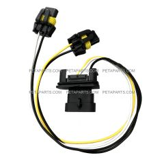 Wire Harness for High & Low Beam Headlight (Fit: Freightliner Columbia Headlight 2005-2015,Freightliner M2 106 112 Business Class Headlight)