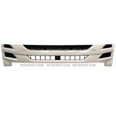 Grille Plastic White   (Fit: 2008-2017 Isuzu NRR and NPR , 2008-2010 GMC W4000 W4500 Trucks)