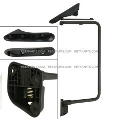 Door Mirror Bracket Arm No Power No Heated Black - Passenger Side (Fit: International 4300 4400 7400 7600 8500 8600 Truck)