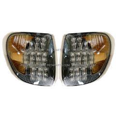 Corner Lamp LED 30 Diodes Clear/Amber- Driver and Passenger Side (Fit: International 9200 9400 5900 Truck)