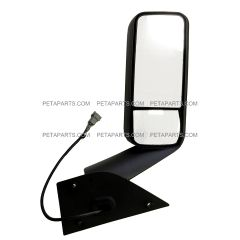 Door Mirror Power Heated Chrome - Passenger Side (Fit: 2020 Freightliner Cascadia)