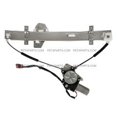 Power Window Regulator And Motor Assembly  - Driver Side (Fit: 1998-2002 Honda Accord)