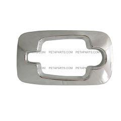 Exterior Cabin Door Handle Trim Bezel Chrome (Fit: International 7300 7400 7500 7600 4200 8600 4400 8500 7600 4100 Prostar CXT MXT RXT )