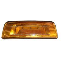 LED Front Fender Side Turn Signal Marker Indicator Amber/Amber Light (Fit: 2013-2019 Peterbilt 567)