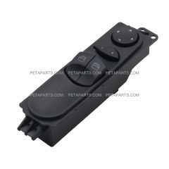 Master Window Switch for 4 Windows with Power Mirror Control - Driver Side (Fit: 2006 - 2014 Mercedes, Dodge, Freightliner Sprinter)