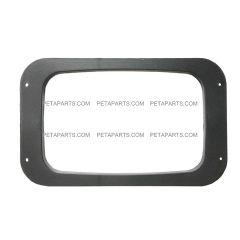 Headlight Bezel Plastic Black (Fit: 1991 - 2004 Mack RD 600 688 690S)