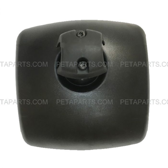 Fit: International DuraStar 4300 Rear View Wide Angle Mirror Black for Door and Hood
